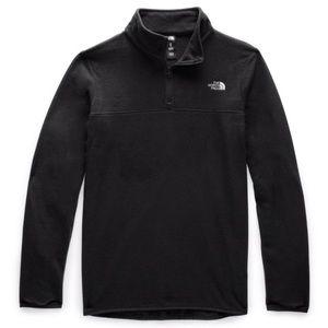 The North Face Black Zip Up Fleece